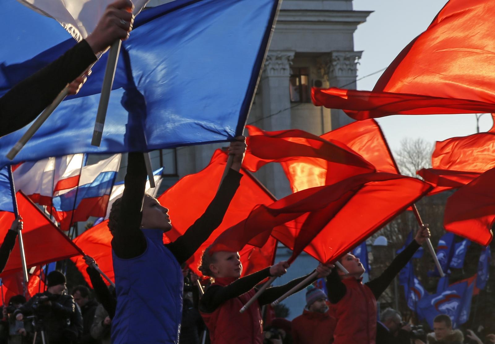 Crimea anniversary