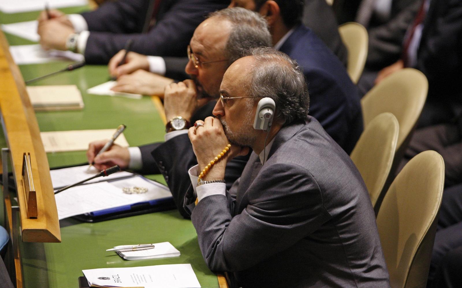 Ali Akhbar Salehi Nuclear talks