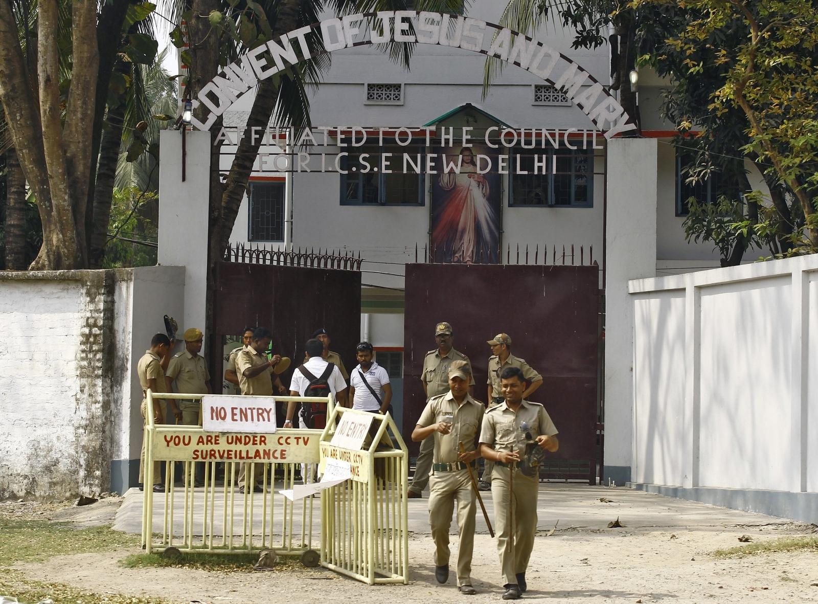 India nun raped convent