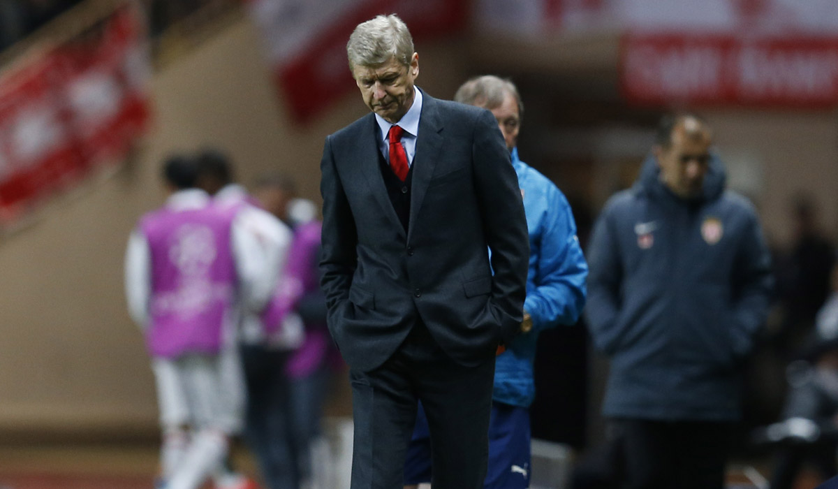 Arsene Wenger Arsenal Monaco