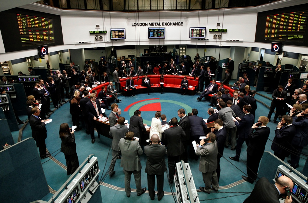 LME Trading Floor