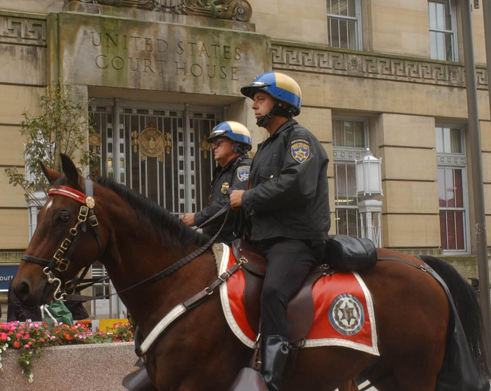Erie County mounted sheriffs