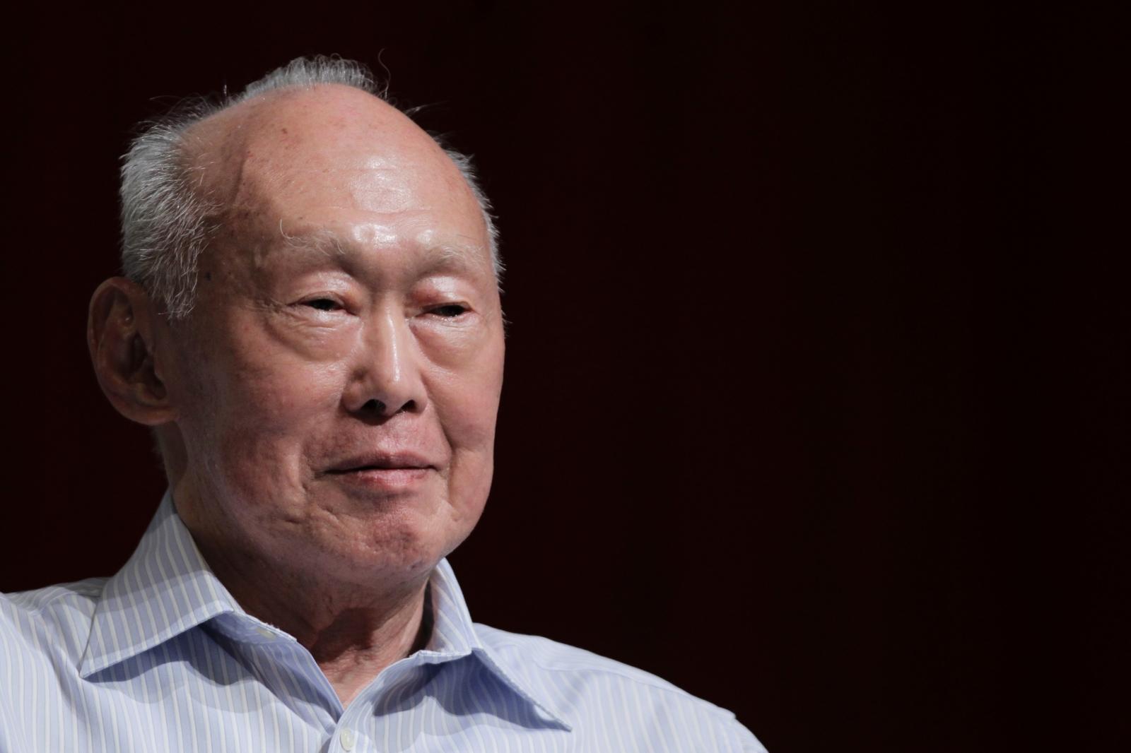 Lee Kuan Yew, Singapore, 2011