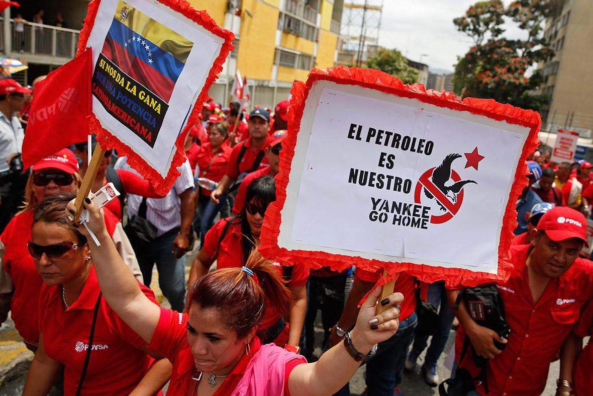 Venezuela anti-US
