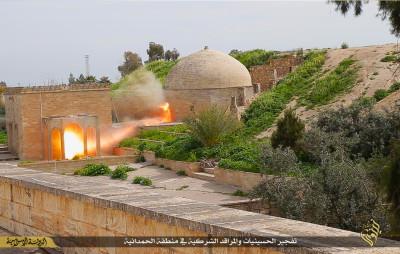 Mar Behnam monastery Isis blown up