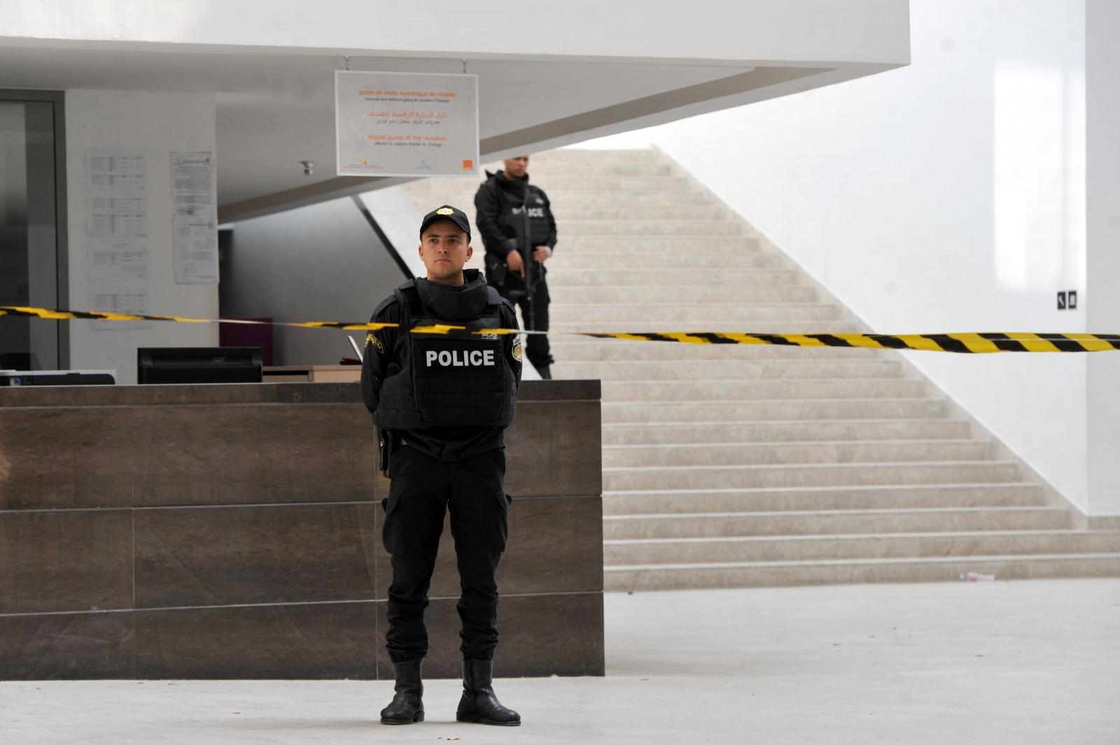 Tunisian Police Bardo Museum