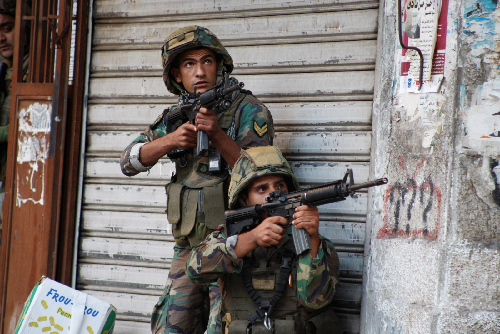 Lebanon Tripoli Jihadi battle