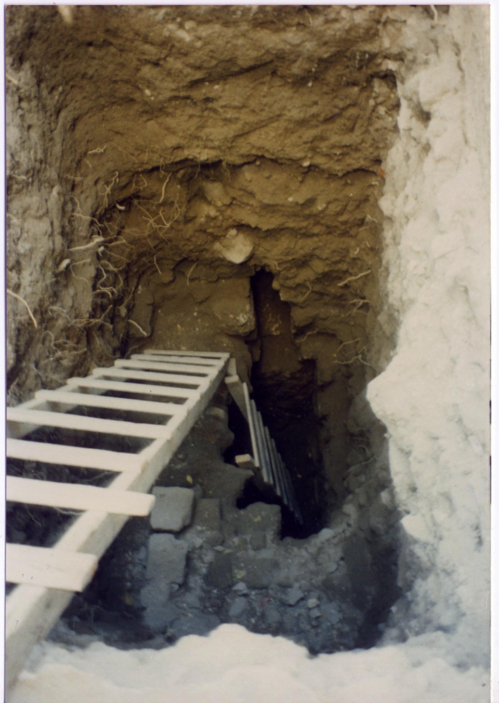 medieval cesspit in Jerusalem