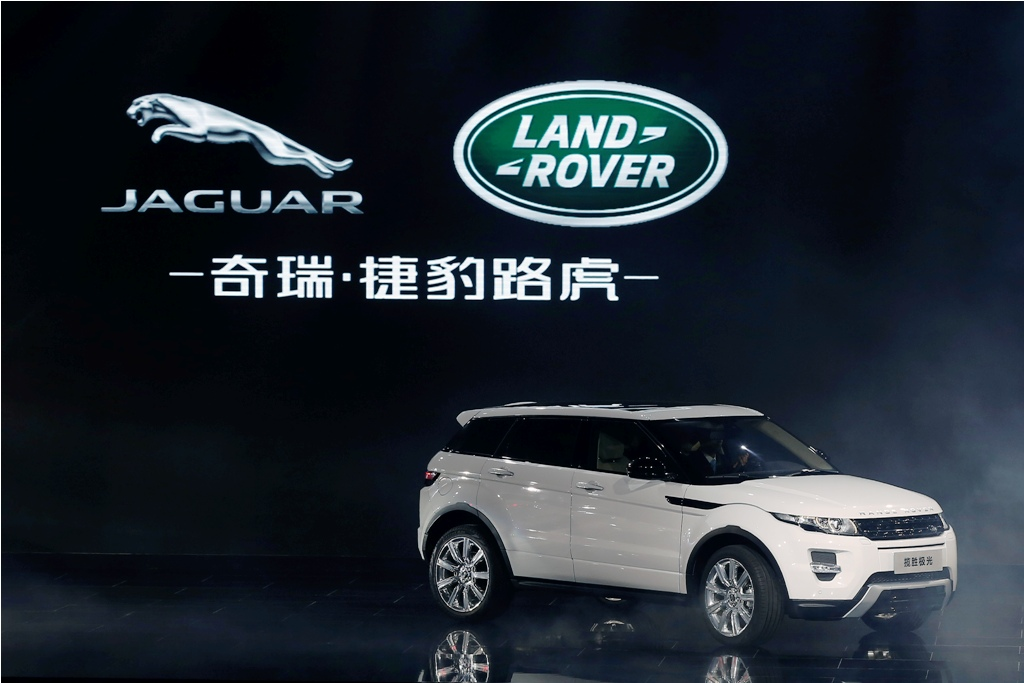 JLR's China Evoque Recalls