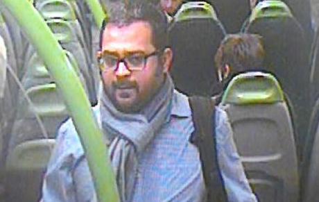 London train indecent assault suspect