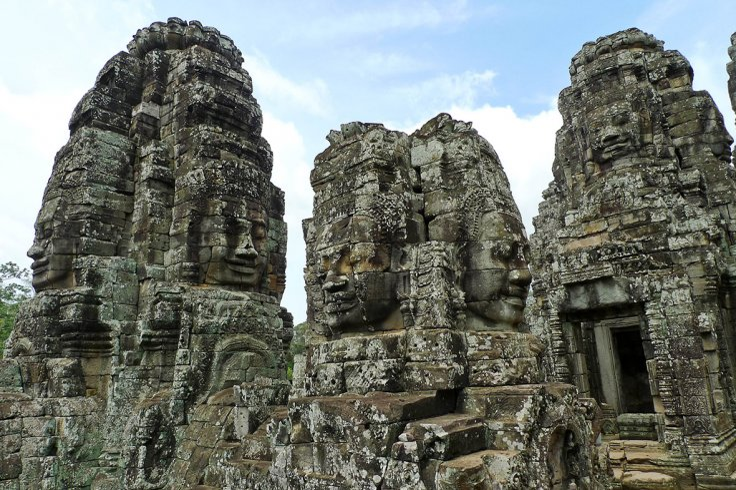 Bayonne Temple, Angkor, Siem Reap
