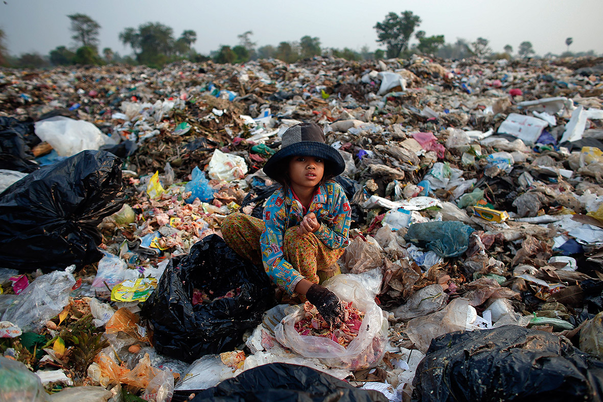 Anlong Pi rubbish dump siem reap