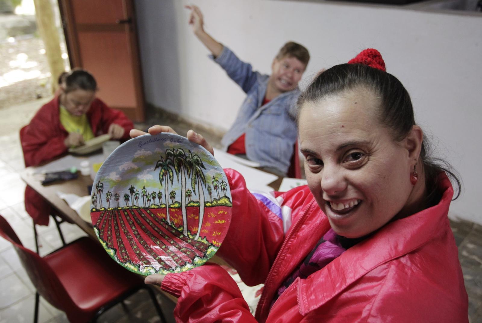 Liset Varela Down syndrome psycho-pedagogical Havana Cuba