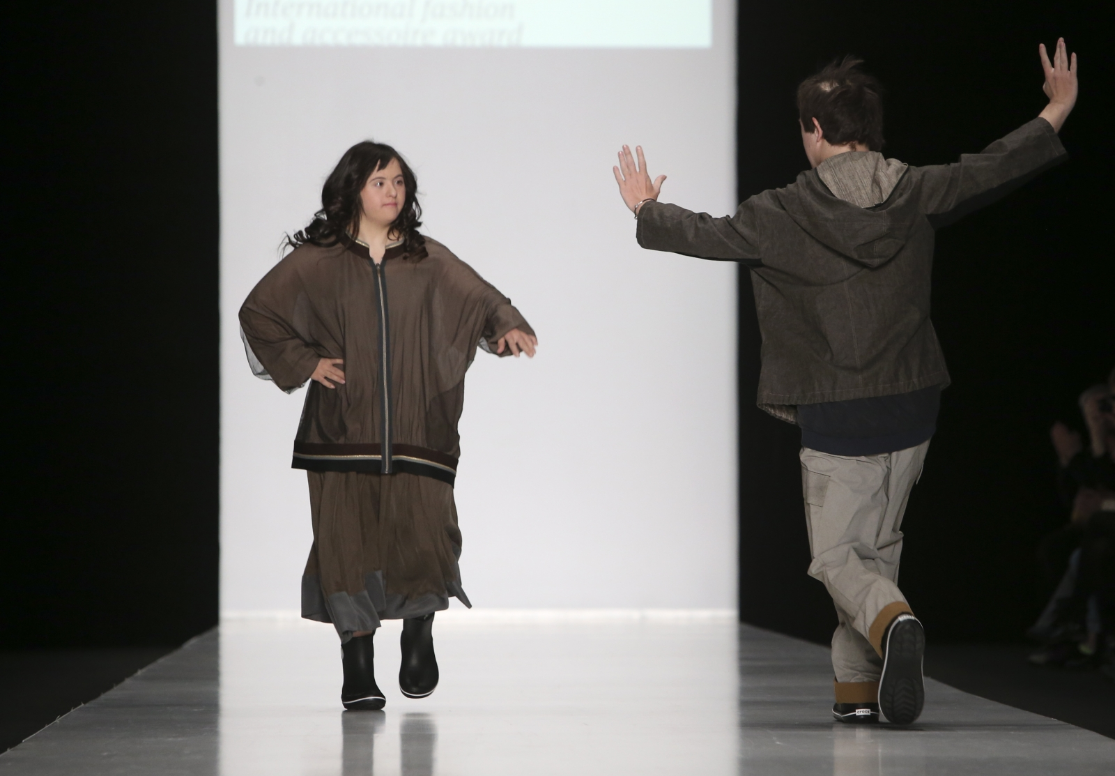 down syndrome Fashion Without Borders Mercedes-Benz Moscow