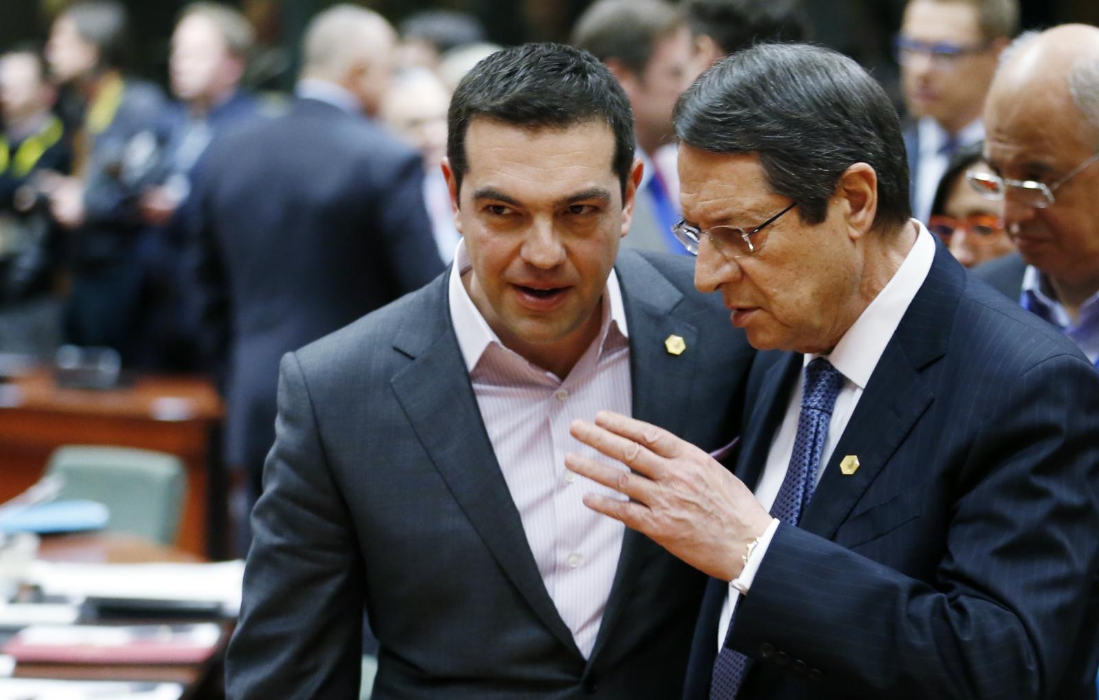 Alexis Tsipras Nicos Anastasiades