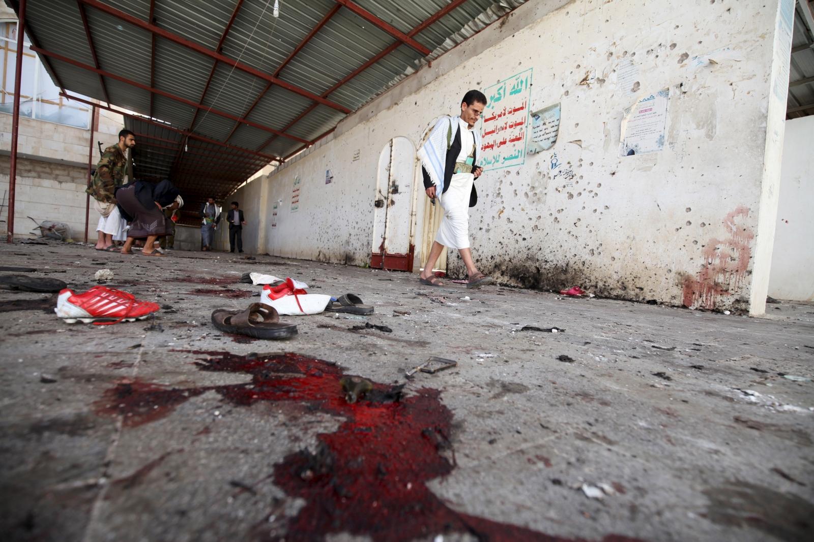 Isis Yemen Sanaa Bombing