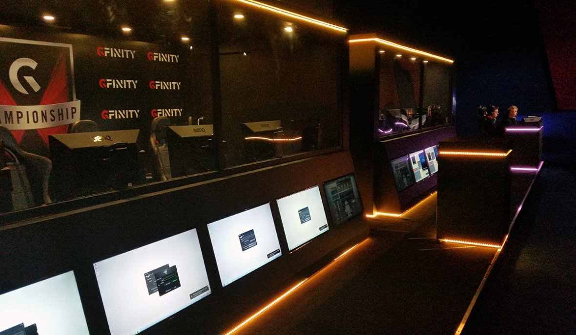 Gfinity Arena Fulham Broadway
