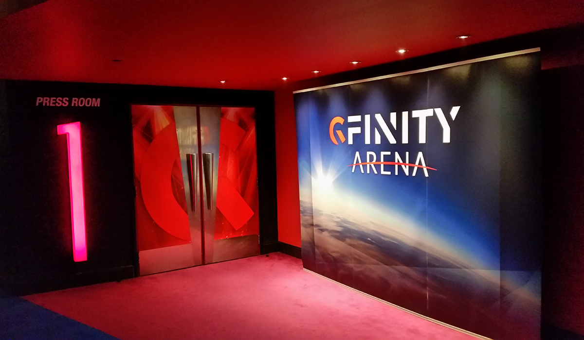 Gfinity Arena Fulham Broadway