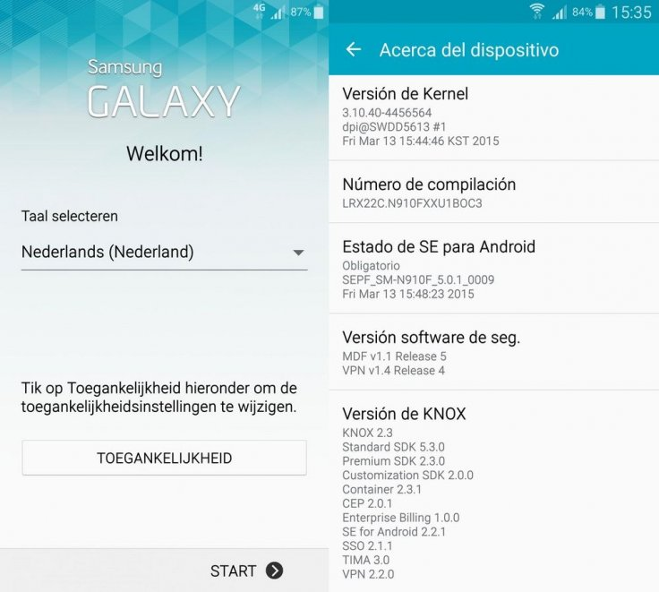 New Android 5 0 1 N910FXXU1BOC3 official build for Galaxy