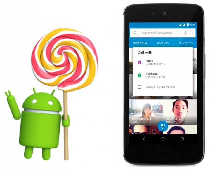 Google Android 5 1 OS update now available on Micromax Canvas A1 in