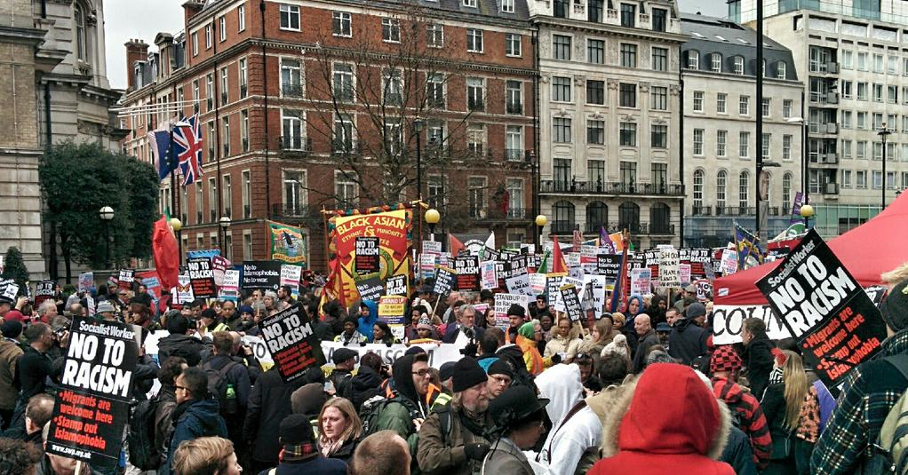 UN Anti-racism Day 2015 London March
