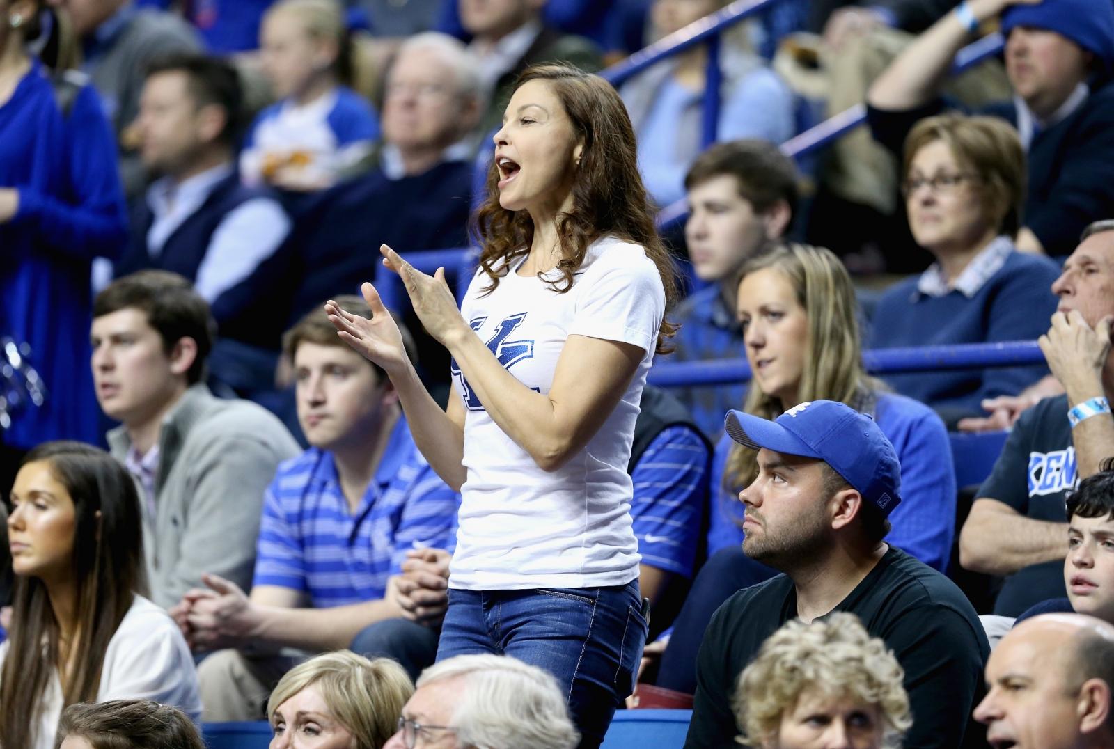 Ashley Judd basketball abuse
