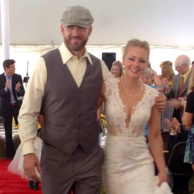 Christie Schoen Codd and her husband Joseph.