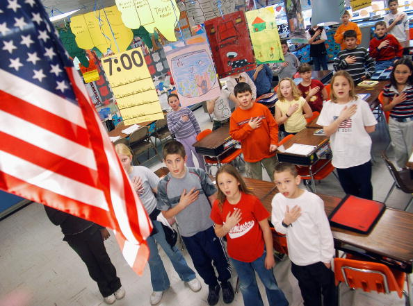 US Pledge of Allegiance