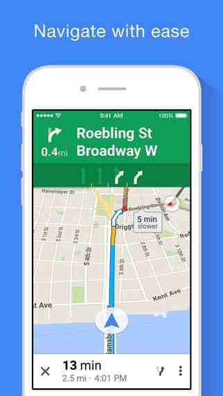 Google Maps 4.4.0 for iOS
