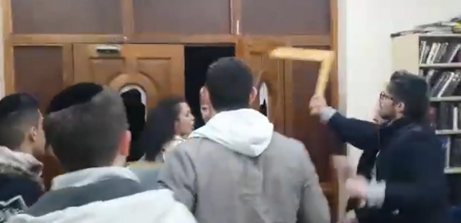 Stamford Hill anti-Semitic attack 1