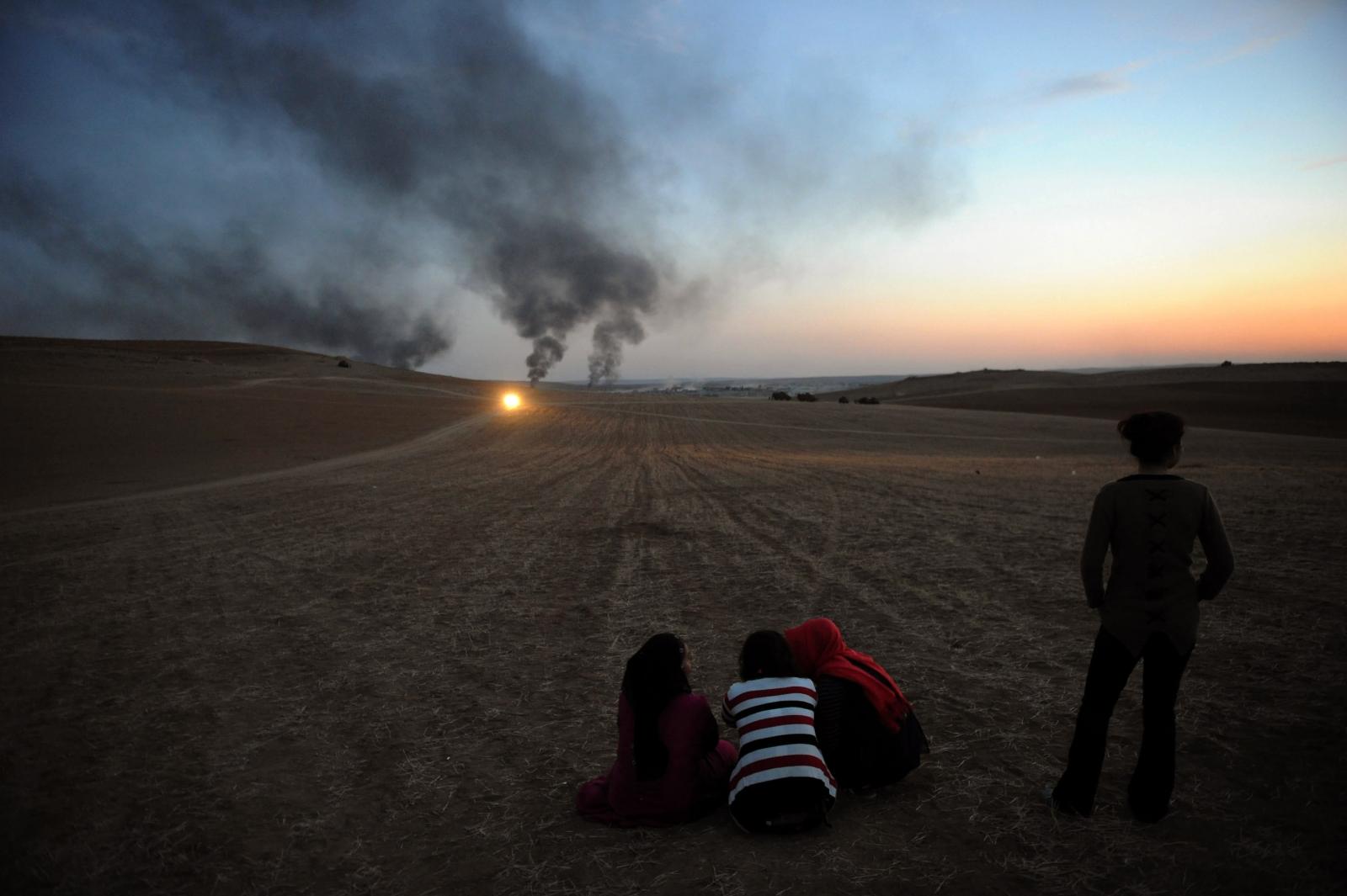 Islamic State battle