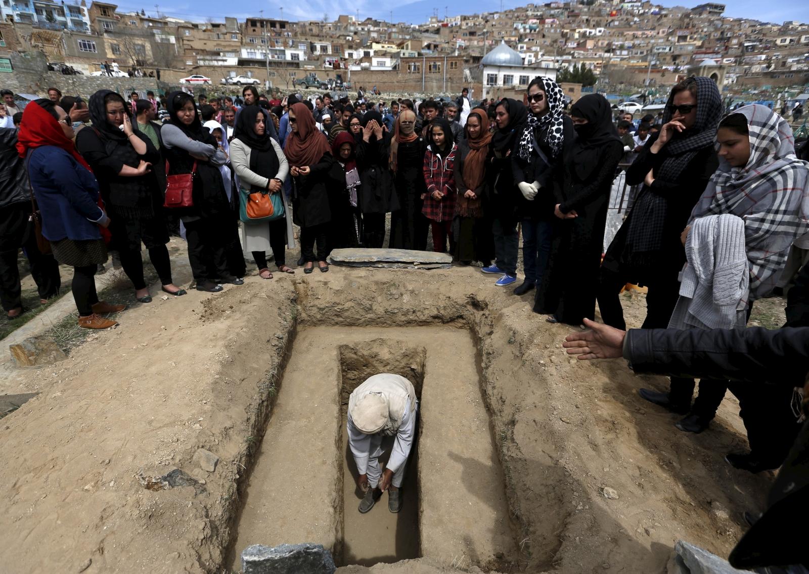 Burial of Farkhunda