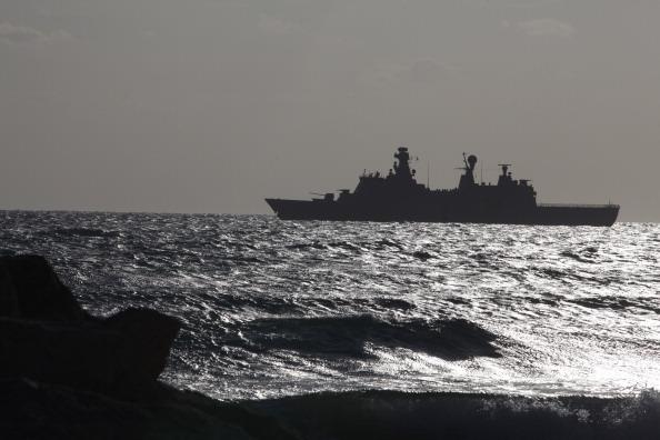 Danish navy warship