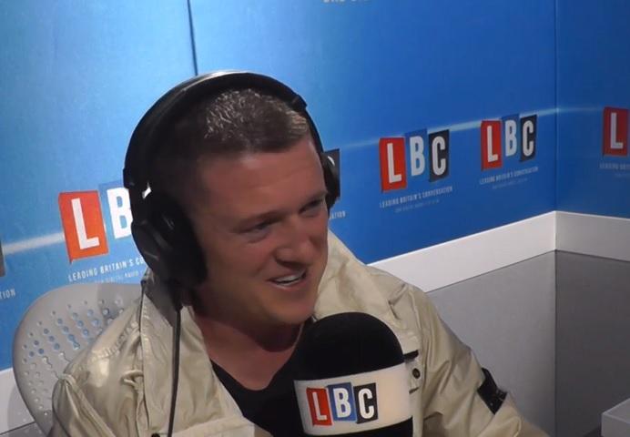 Tommy Robinson on LBC radio