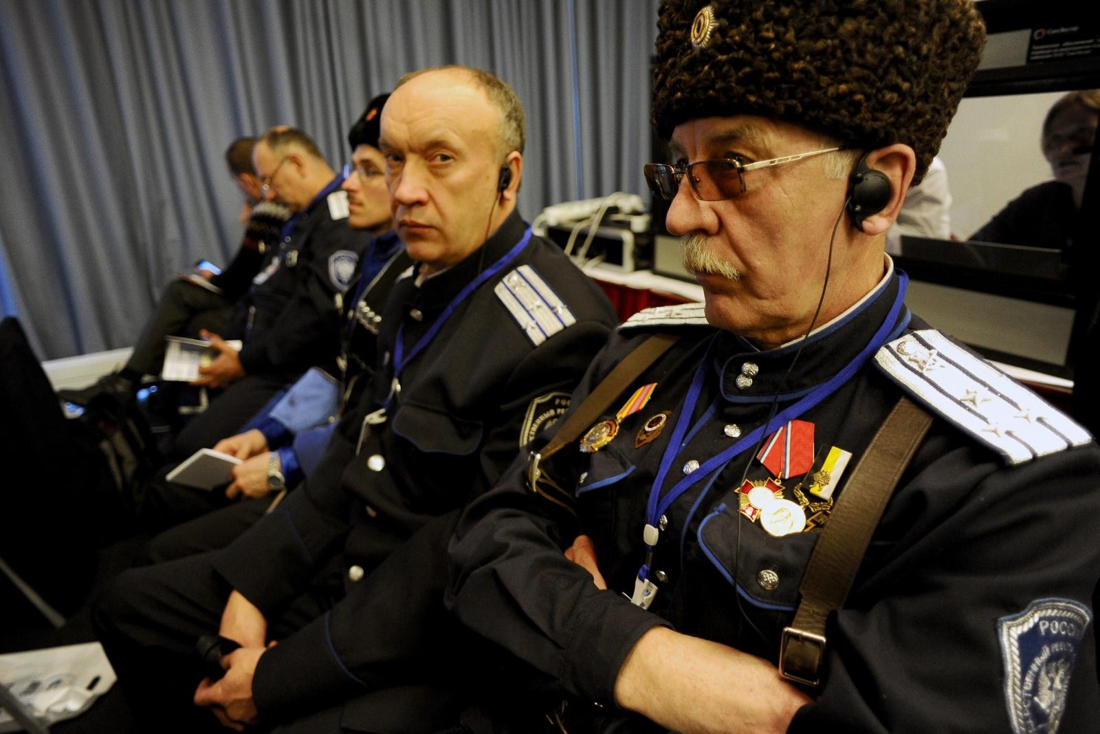 Cossacks far-right conference