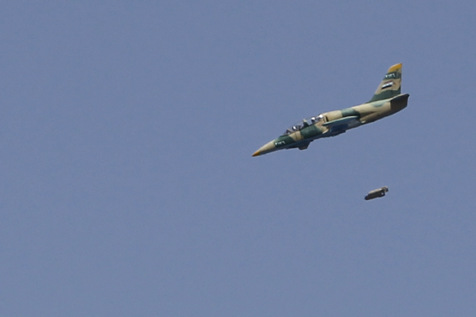 Syrian regime warplane shot down Isis