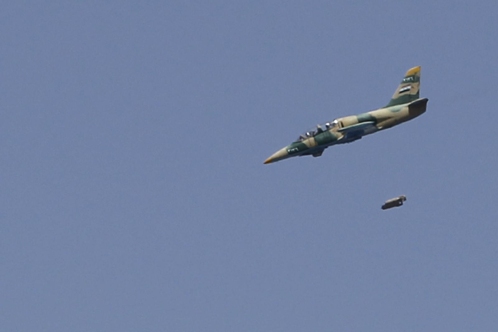 Syrian regime warplane shot down Isis