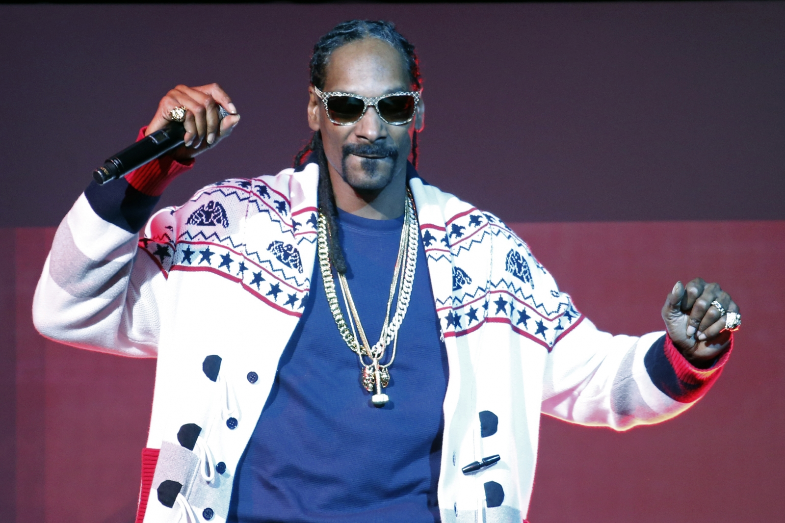 Snoop Dogg on Jeremy Clarkson's side