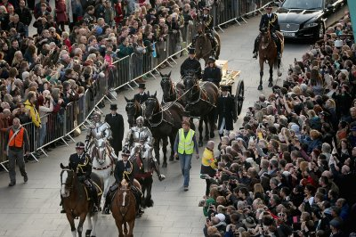 King Richard III reburied