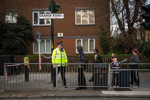 Grange Road Bermondsey bomb