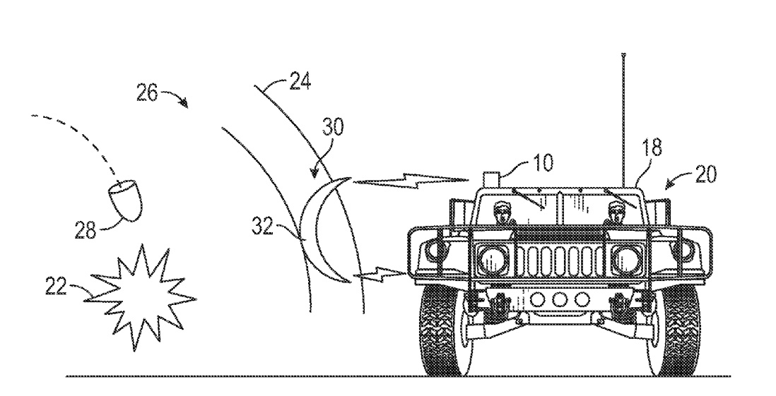Boeing's force field system patent dream