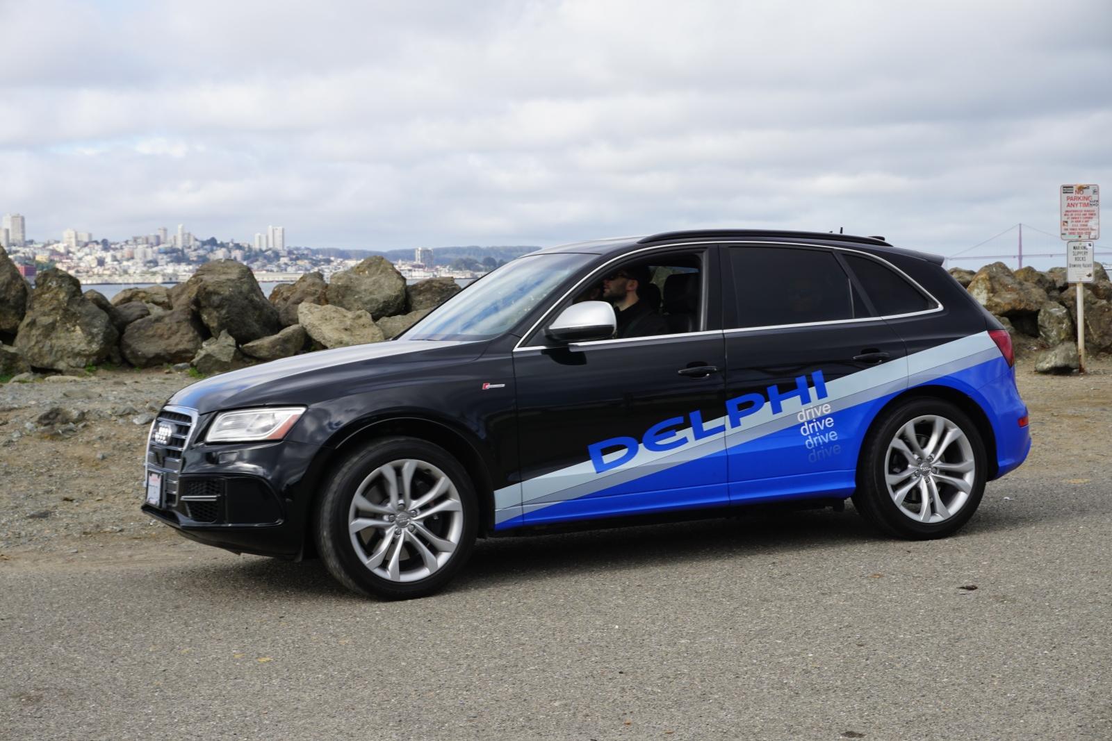 Autonomous Audi SQ5