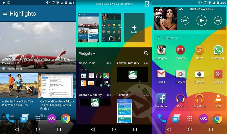 How to install HTC One M9 Home launcher, keyboard, gallery, music player, camera and more on Android device