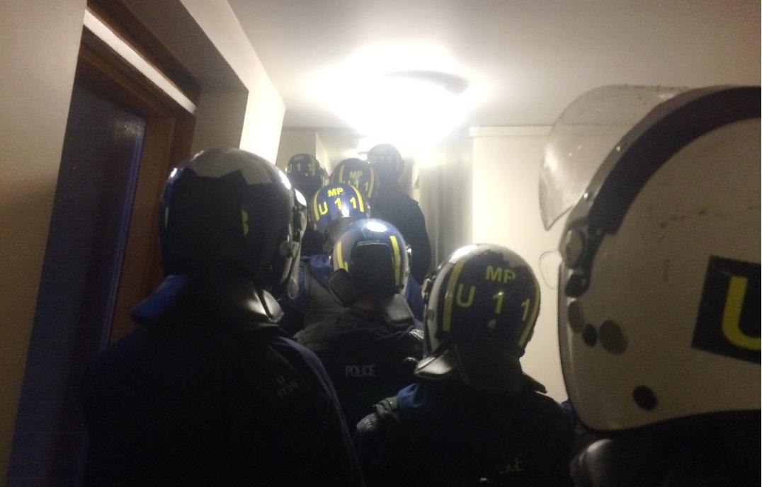 Met Police gang raid