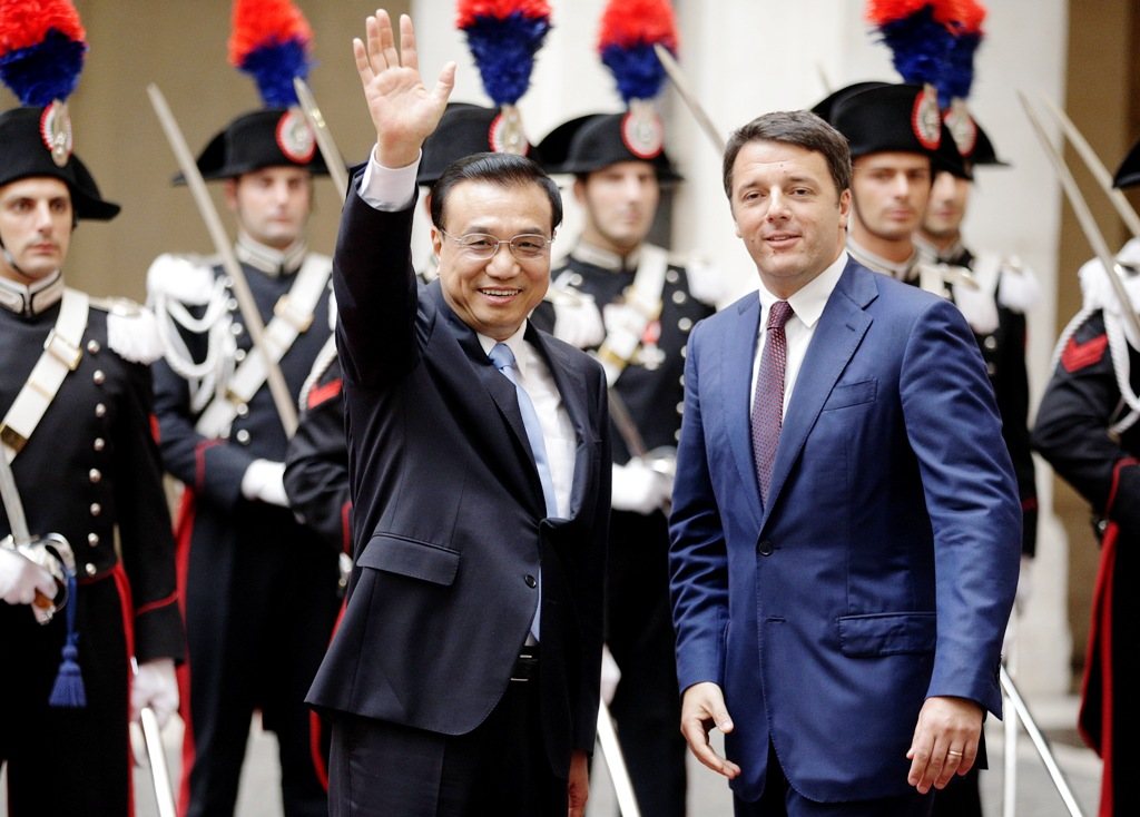 Chinese Firms Hunt in Italy