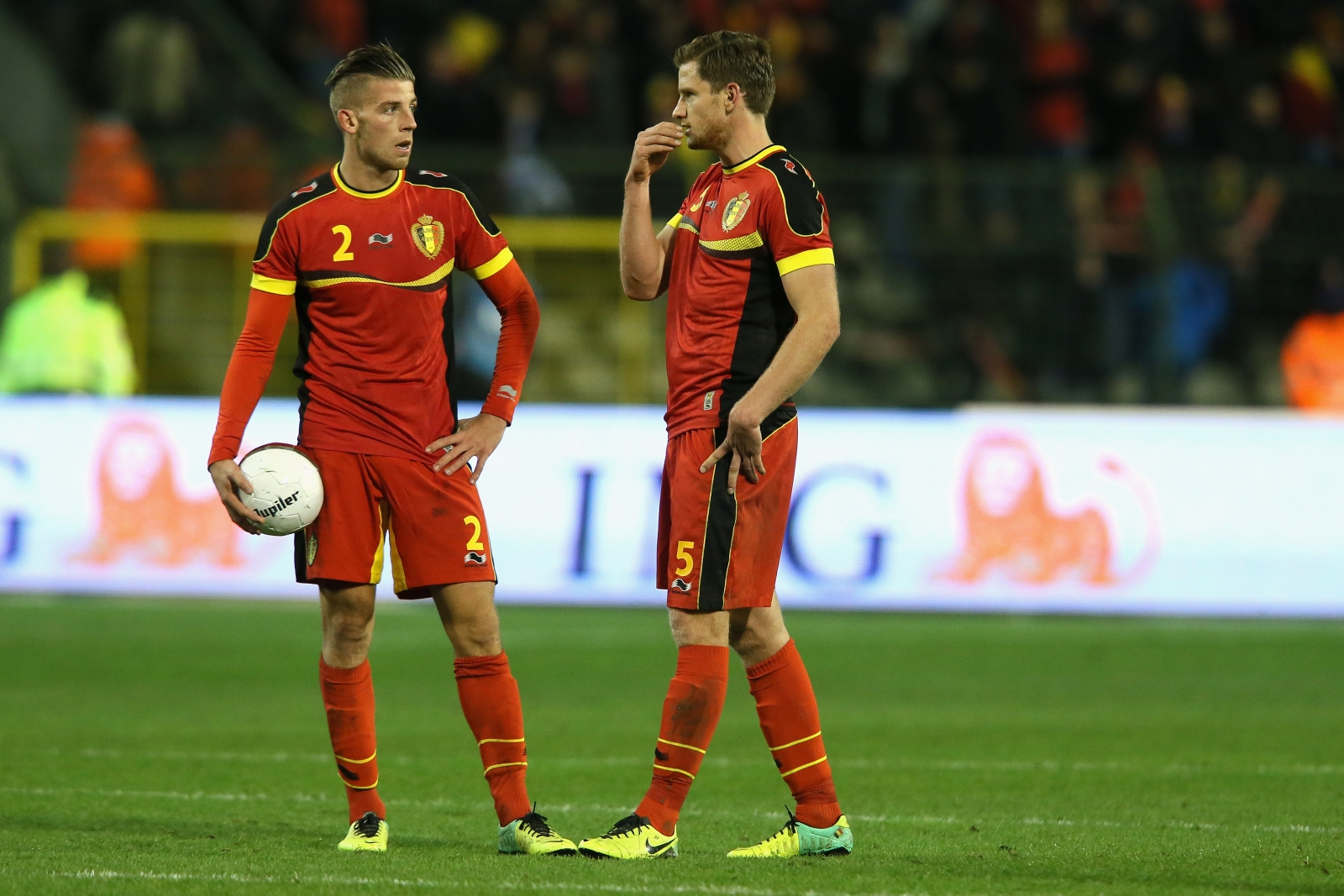 Toby Alderweireld and Jan Vertonghen