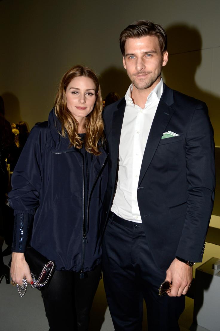Olivia Palermo and husband Johannes Huebl