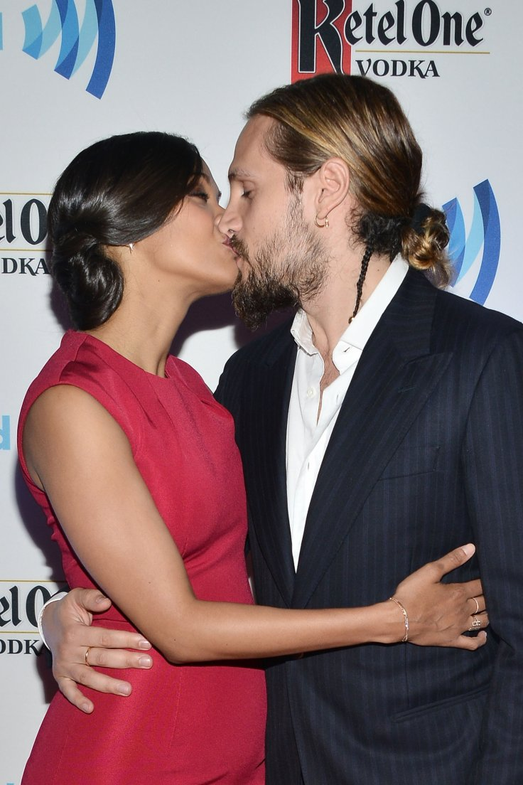 Zoe Saldana and husband Marco Perego
