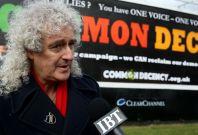 Brian May Queen guitarist