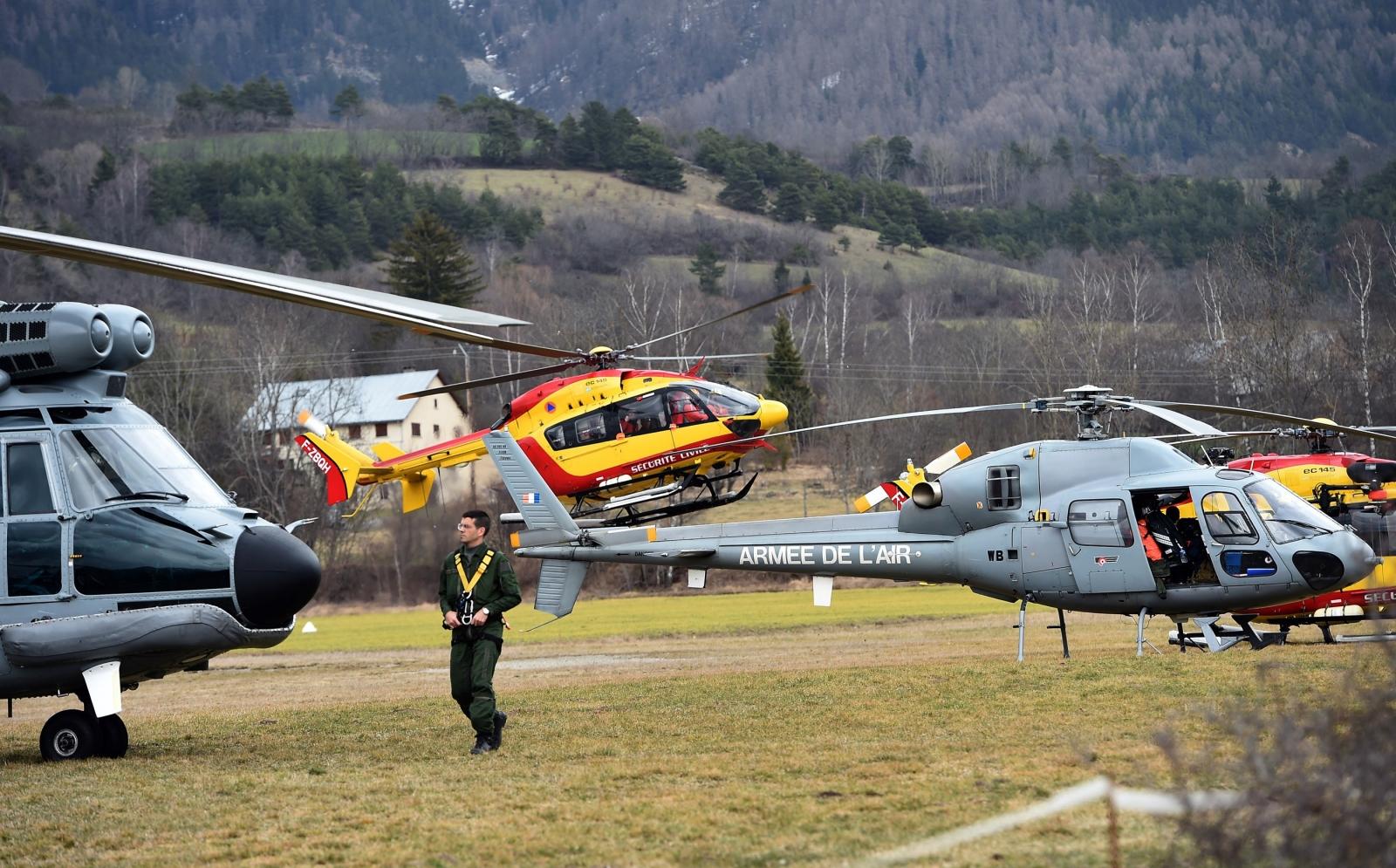 Helicopters germanwings
